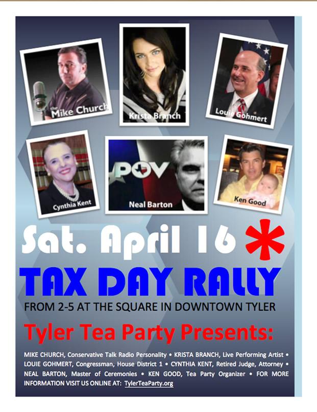 Tyler Tax Day Tea Party