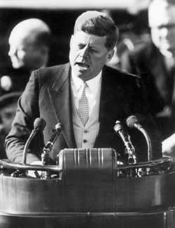 "John F. Kennedy ""Ask What You Can Do For Your Country"" 1961 Speech"