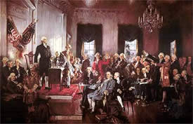 constitutional convention 1787 essay Constitutional convention fifty five delegates from twelve of the thirteen states met in philadelphia today rhode island is the only state of the thirteen that chose not to attend the revising of the articles of confederation.
