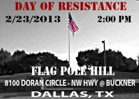 Day of Resistance February 23, 2013