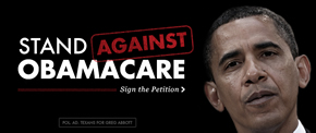 Stand Against Obamacare Greg Abbott Petition
