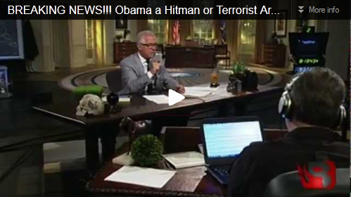 Obama a hitman or terrorist arms dealer?
