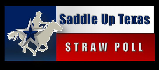 Saddle Up Texas Straw Poll 2012