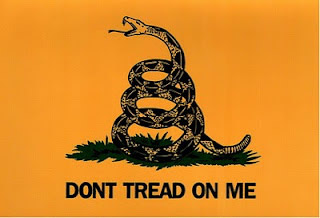 TEA Party Don't Tread On Me