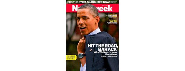 Obama Newsweek and Main Strea Media Bias