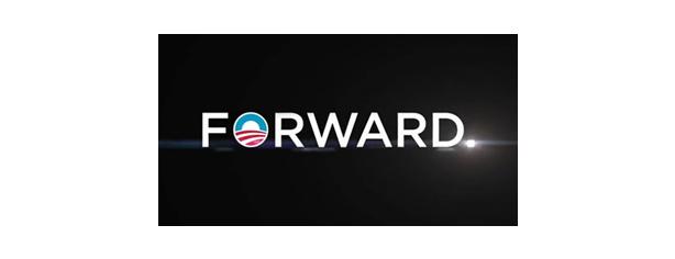 Obama Slogan - Forward
