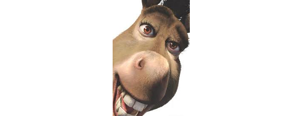 At the VP Debate Joe Biden Does the Donkey Dance