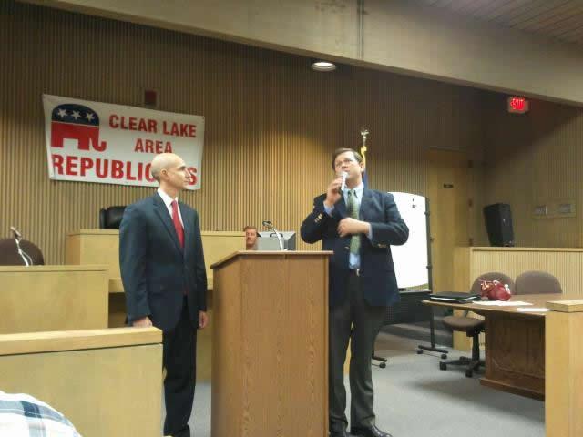John Davis & Greg Bonnen Supporting Joe Straus