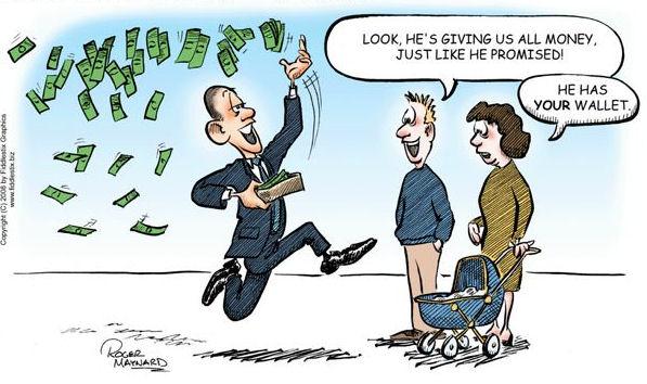 Redistribution of Wealth