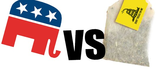 The Establishment GOP vs. the Tea Party