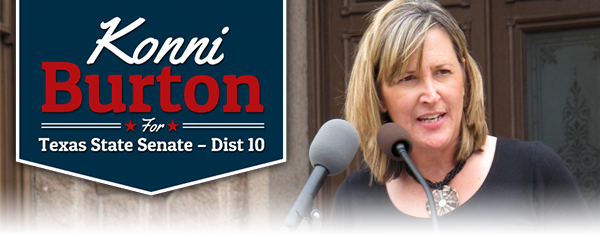 Konni Burton for Texas State Senate