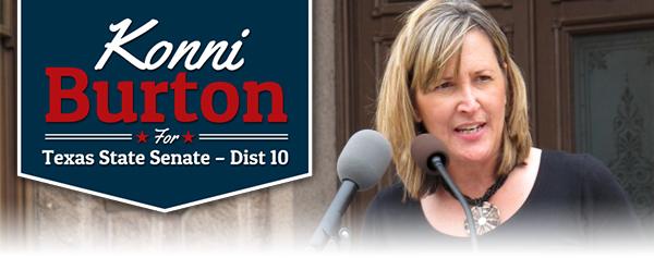 Konni Burton for Texas State Senate