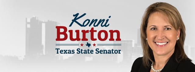 Texas State Senator Konni Burton