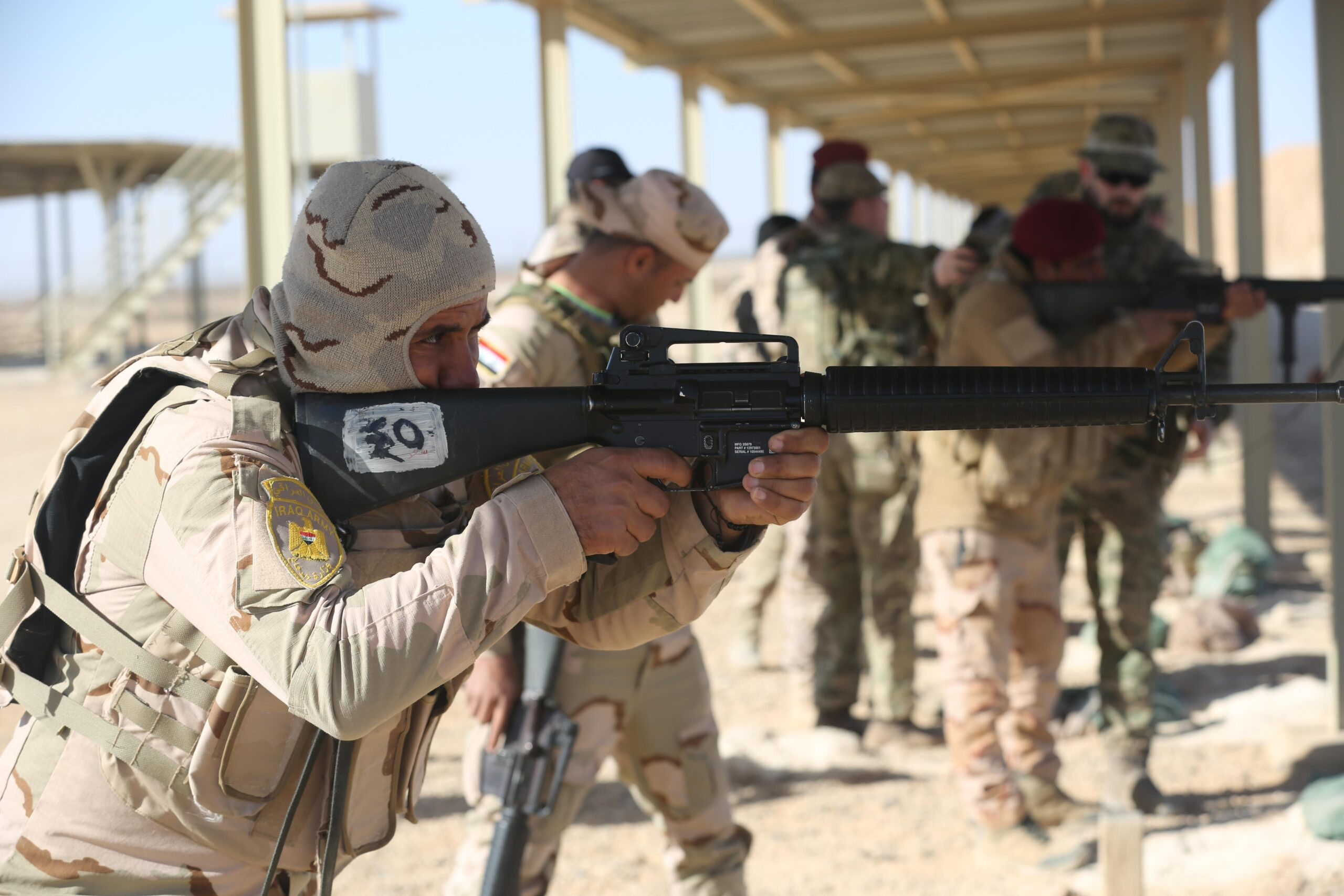 ar 15 isis spread weapons