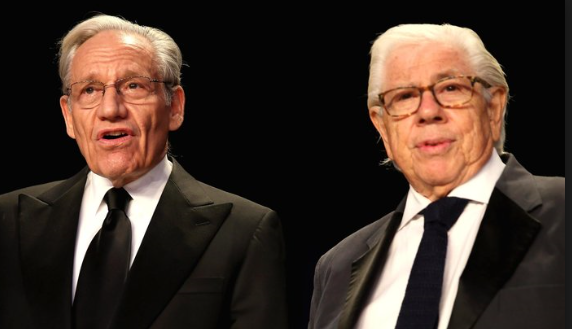 Woodward-Bernstein duo ~ Old Pair of Hacks
