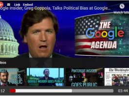 Greg Coppola discusses Google's political bias with Tucker Carlson