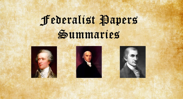 What were the federalist essays