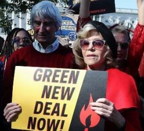 Jane Fonda - Sam Waterston - Green New Deal