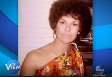 Joy Behar in blackface