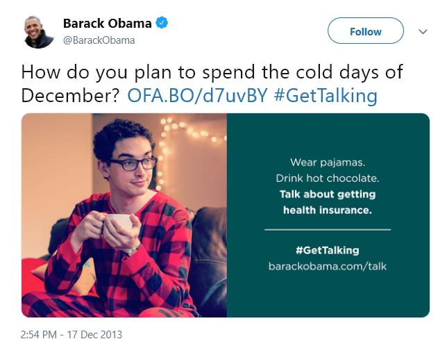 Obamacare's Pajama Boy