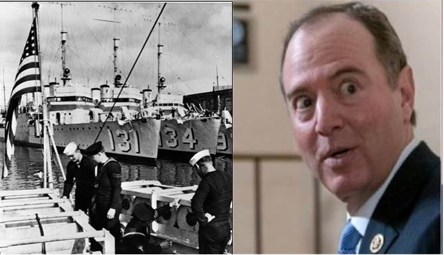 Schiff to investigate Roosevelt's Quid Pro Quo with Churchill