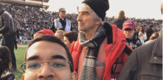 Sam Waterston Harvard Yale Protest