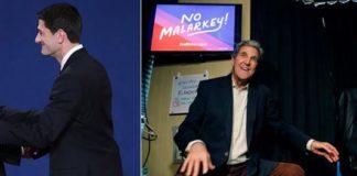 Paul Ryan with Joe Biden
