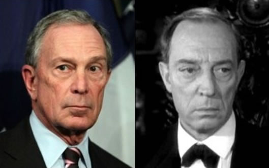 Mike Bloomberg and Brother