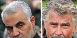 General Qassem Soleimani played by James Brolin