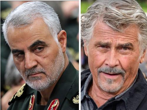 General Qassem Soleimani played by James Brolin
