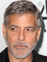 George Clooney as General Qassem Soleimani