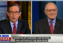 Chris Wallace interviews Alan Dershowitz on Trump Impeachment