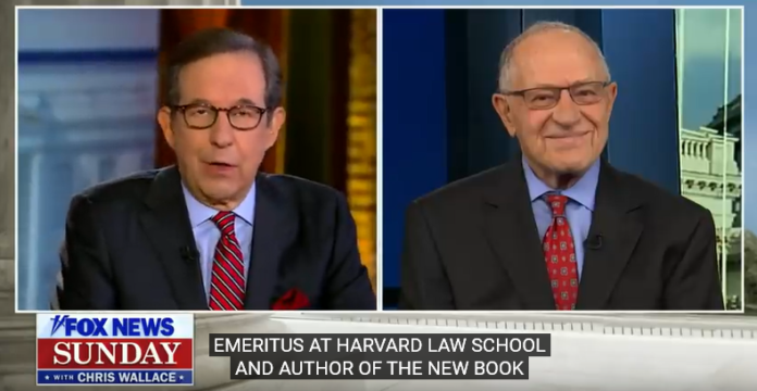 Chris Wallace interviews Alan Dershowitz on Trump Impeachment