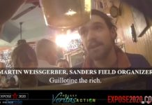 Guillotine the Rich says Martin Weissgerber, Bernie Sanders campaign worker