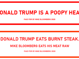 Mike Bloomberg - Anti-Trump Bloomboards