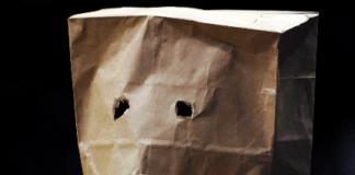 Coronavirus Mask Bag Man