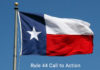 Texas GOP Rule 44 Call to Action