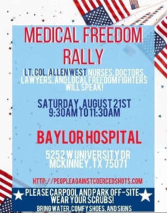 Medical Freedom Rally